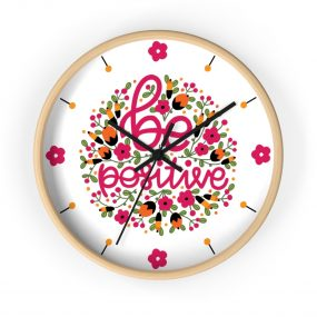 Custom Print Round Wall clock