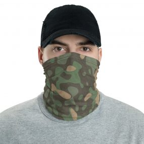 military camouflage custom neck gaiter headband