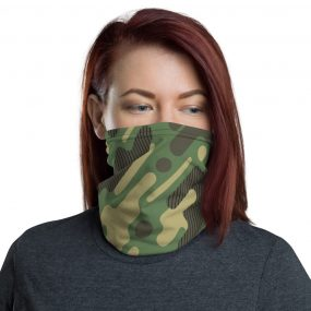 Military Camouflage Pattern 7 Custom Neck Gaiter Face Mask