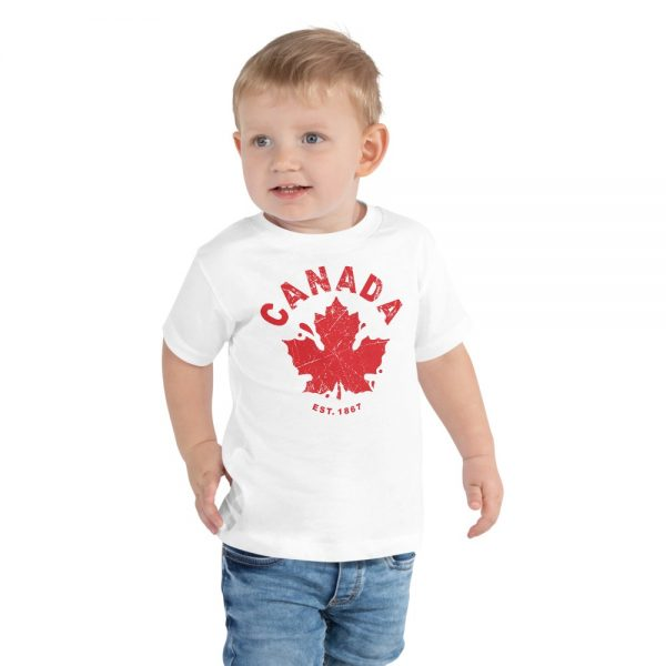 kids canada day personalized clothing