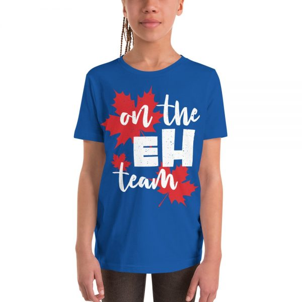 on the eh team youth t-shirt