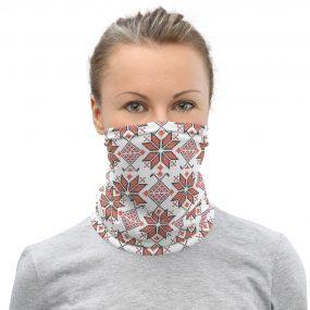 palestinian tatreez embroidery face mask neck gaiter