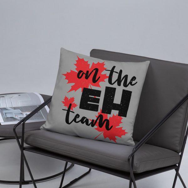 on the eh team custom pillow