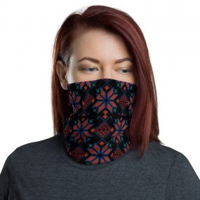 palestinian embroidery design face mask