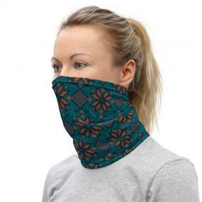 ukrainian folk embroidery face mask