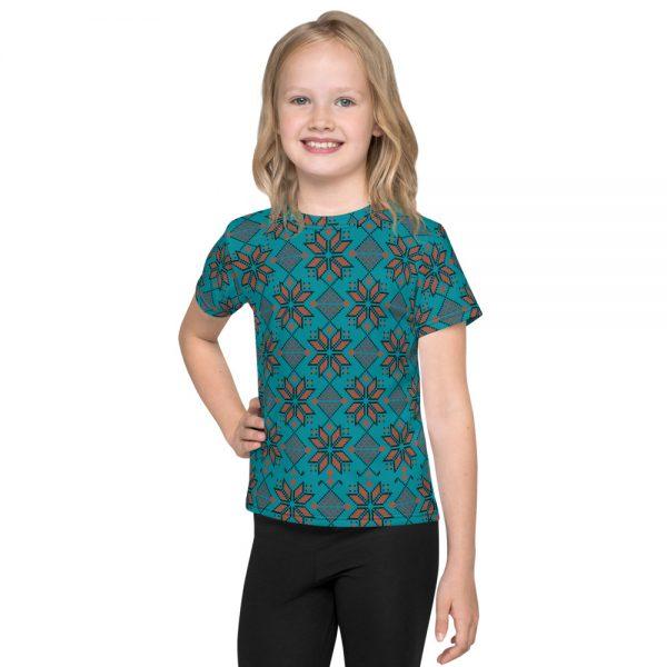 kids customizable t-shirt embroidery like design