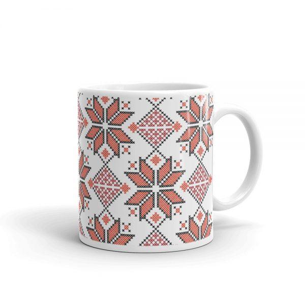 tatreez embroidery like mug