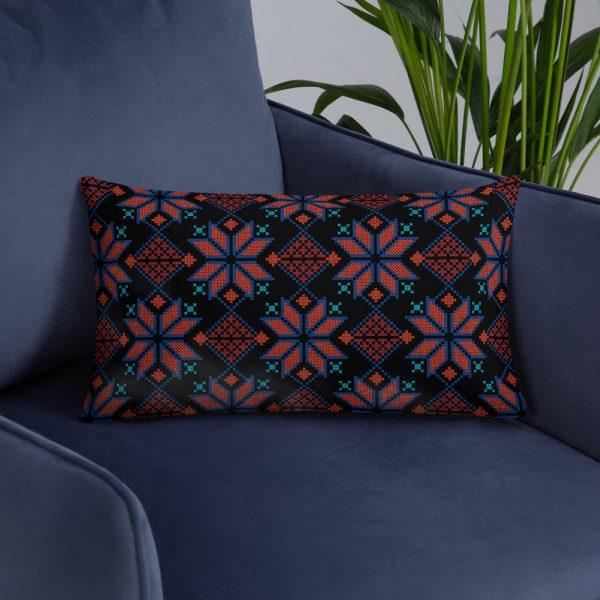 palestinian embroidery tatreez pillow