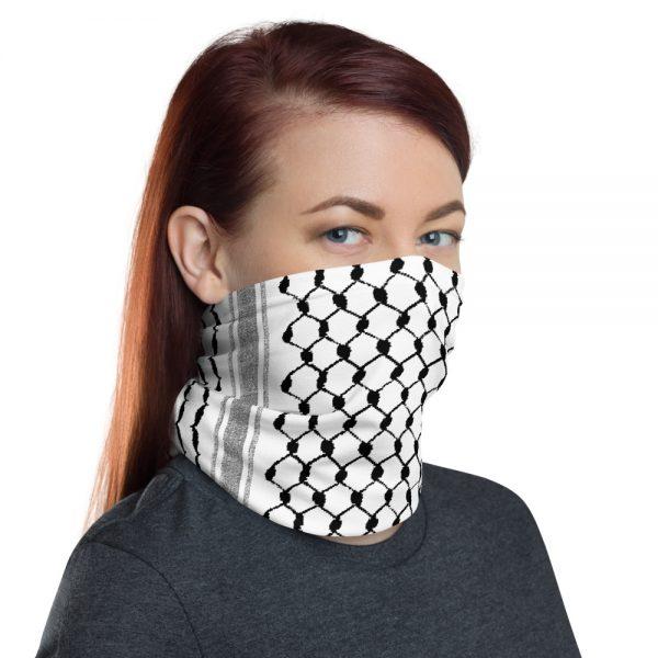 palestine hatta kufiya pattern custom neck gaiter face mask