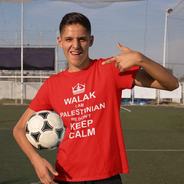 walak i'm Palestinian youth t-shirt