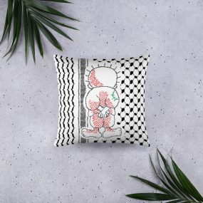 palestine handala custom pillow