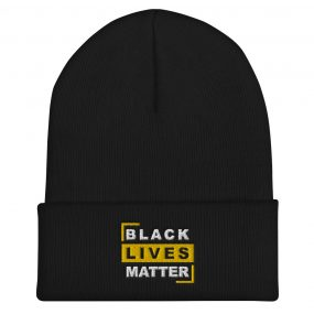 Black Lives Matter Quality Customizable Cuffed Beanie
