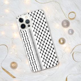 Palestinian Kufiya Hatta pattern iphone case