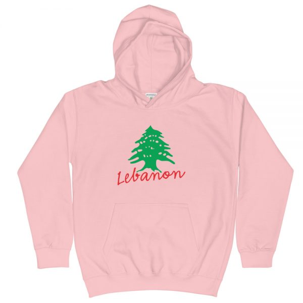 lebanon name cedar tree customized kids hoodie