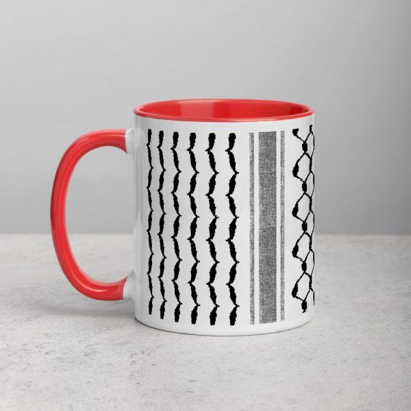 palestinian hatta kufiya custom gift mug