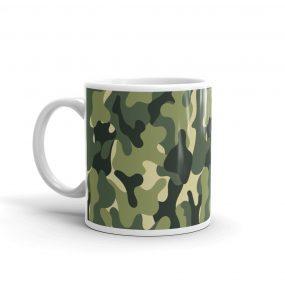 camouflage pattern 1 mug