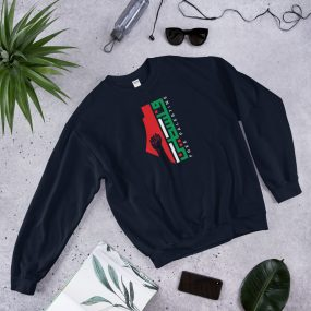 free palestine arabic sweatshirt