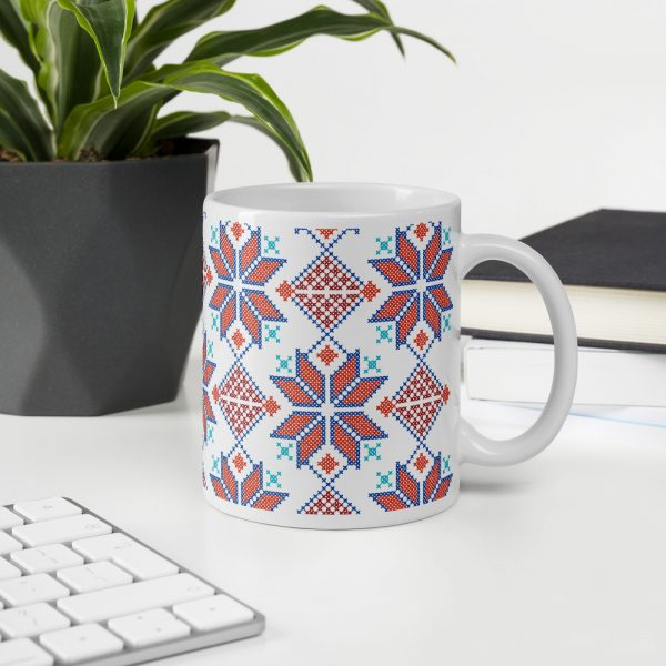 tatreez custom gift mug