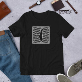 Palestine map in pattern design custom t-shirt