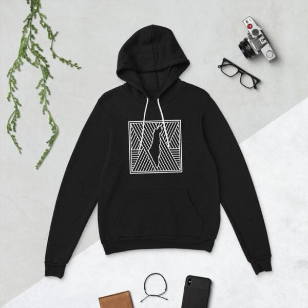palestine map in pattern design custom hoodie