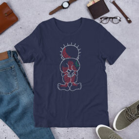 Palestine Handala embroidery tatreez design t-shirt