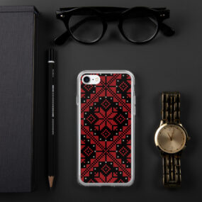 palestinian tatreez embroidery iphone case