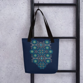 palestinian tatreez embroidery design hand bag