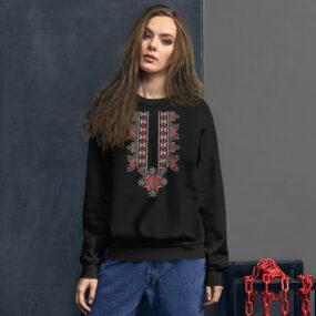 palestinian embroidery tatreez sweatshirt