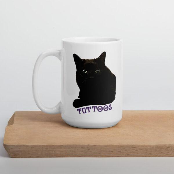 cat mom customized coffee mug