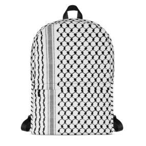 Palestinian Kufiya Hatta pattern customized backpack