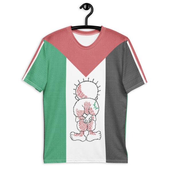 Palestine flag customized t-shirt